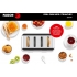 GRILL PAIN INOX 4 TRANCHES