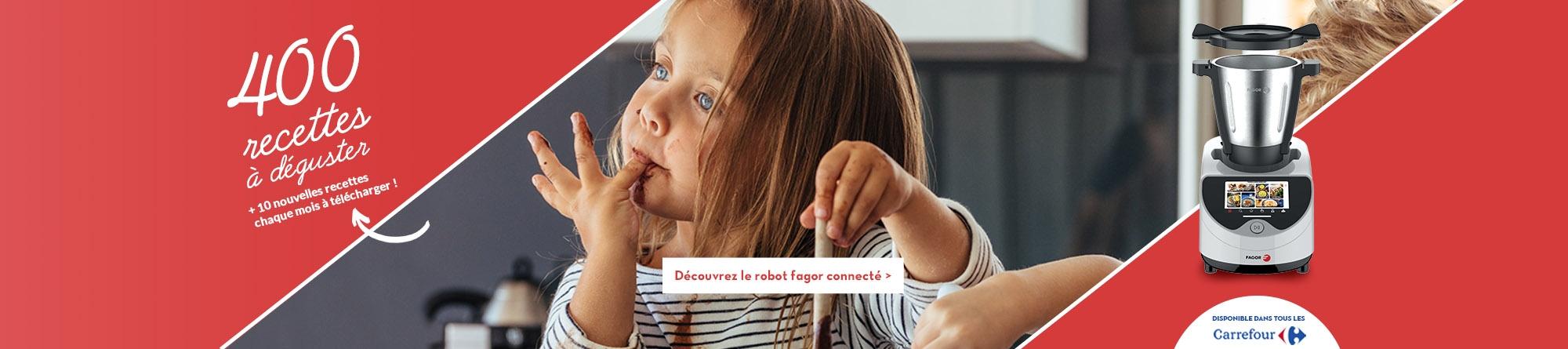 Robot cuiseur multifonctions Fagor connecté
